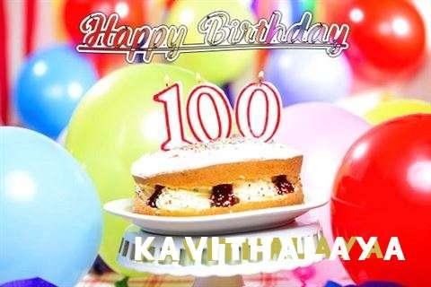 Happy Birthday Kavithalaya