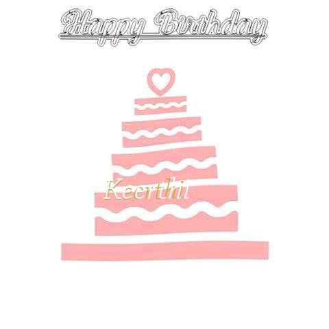 Happy Birthday Keerthi Cake Image