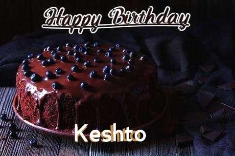 Happy Birthday Cake for Keshto