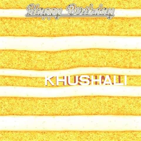 Khushali Birthday Celebration