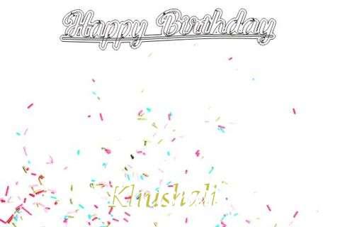 Happy Birthday to You Khushali