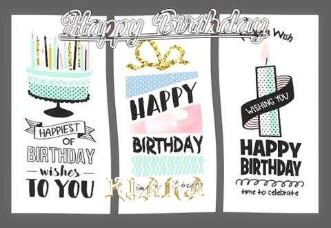 Happy Birthday to You Kiara