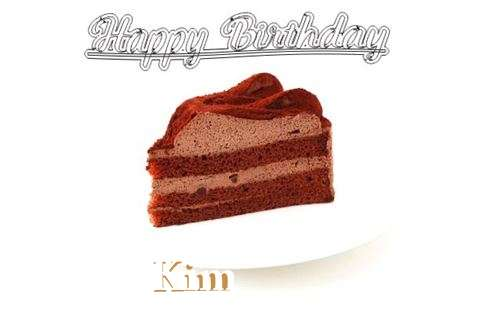 Happy Birthday Wishes for Kim