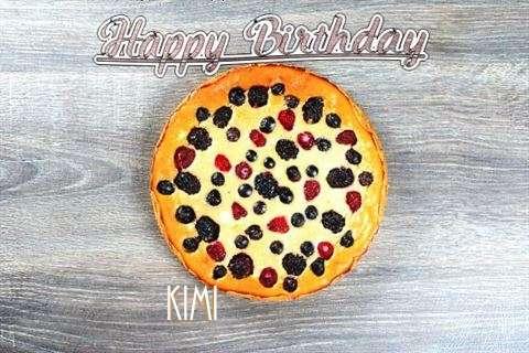 Happy Birthday Cake for Kimi