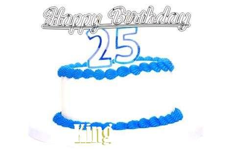 Happy Birthday King Cake Image
