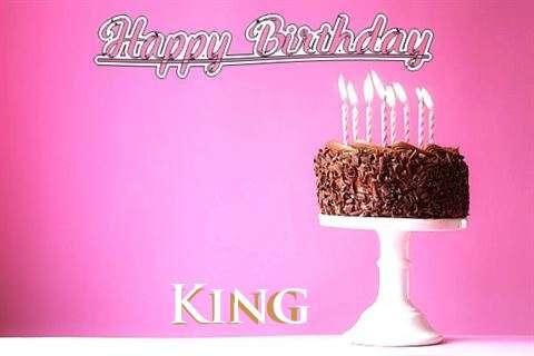 Happy Birthday Cake for King