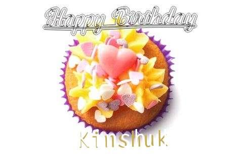 Happy Birthday Kinshuk Cake Image