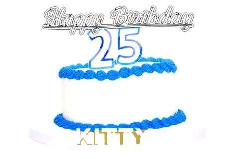 Happy Birthday Kitty Cake Image