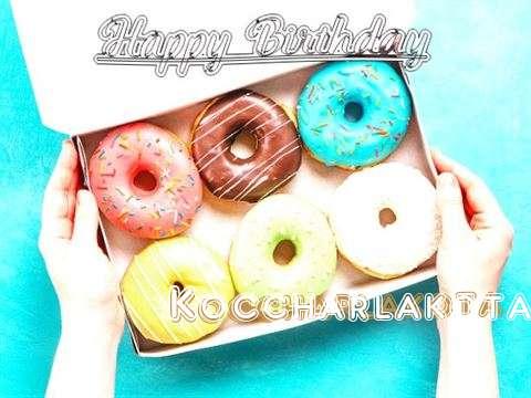 Happy Birthday Koccharlakota Cake Image