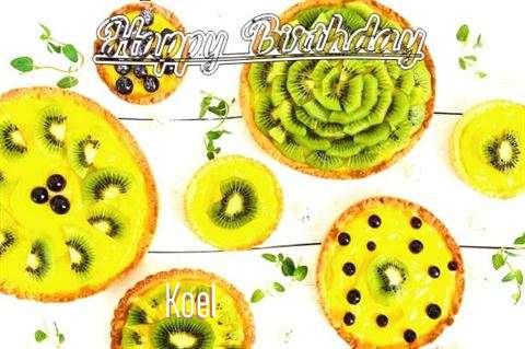 Happy Birthday Koel Cake Image