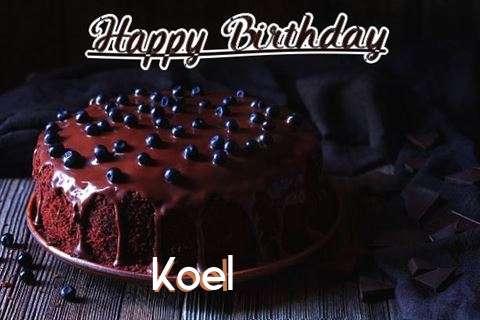 Happy Birthday Cake for Koel