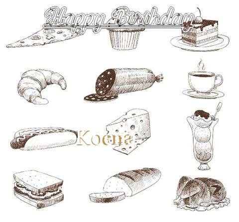 Happy Birthday Cake for Koena