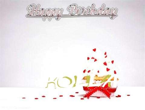 Happy Birthday Kolla