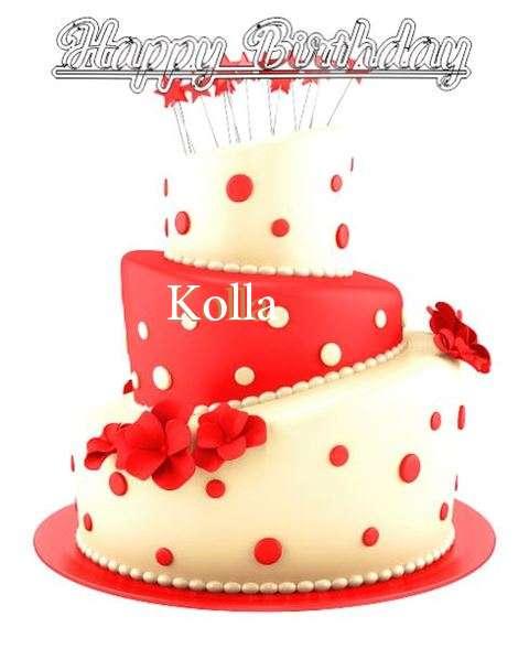 Happy Birthday Wishes for Kolla