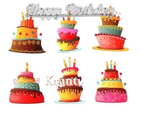 Happy Birthday to You Kranti