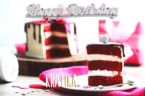 Happy Birthday Wishes for Kratika