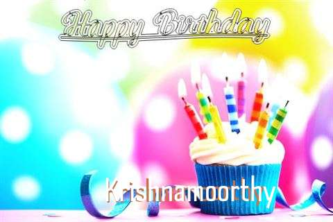 Happy Birthday Krishnamoorthy