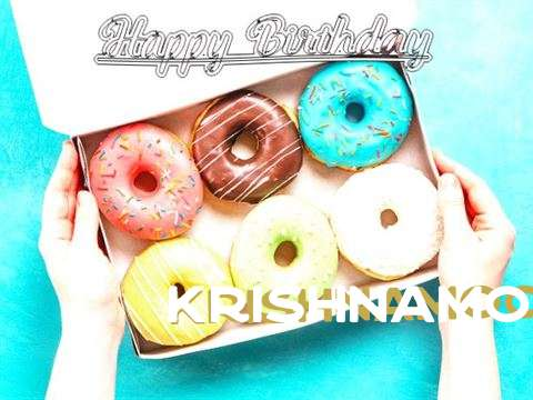 Happy Birthday Krishnamoorthy Cake Image