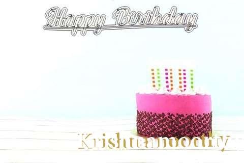 Happy Birthday to You Krishnamoorthy