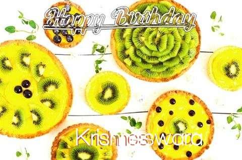 Happy Birthday Krishneswara Cake Image