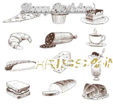 Happy Birthday Cake for Krissann