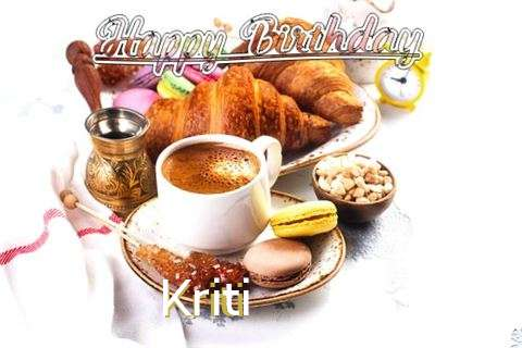Birthday Images for Kriti
