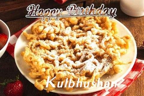 Happy Birthday Kulbhushan Cake Image