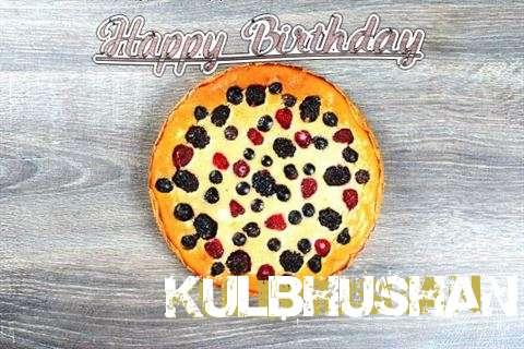 Happy Birthday Cake for Kulbhushan
