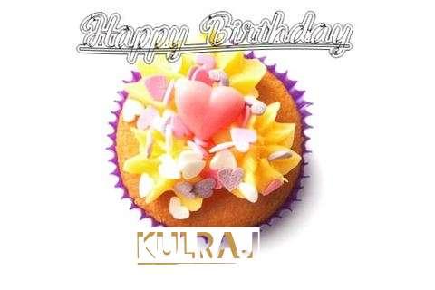 Happy Birthday Kulraj Cake Image