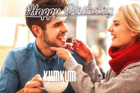 Happy Birthday Kumkum Cake Image