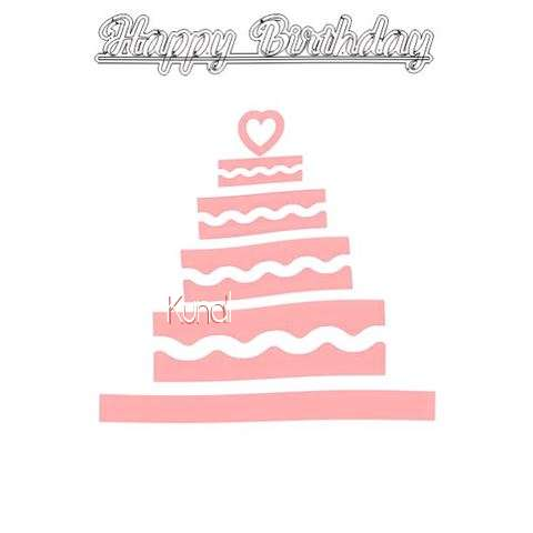 Happy Birthday Kunal Cake Image