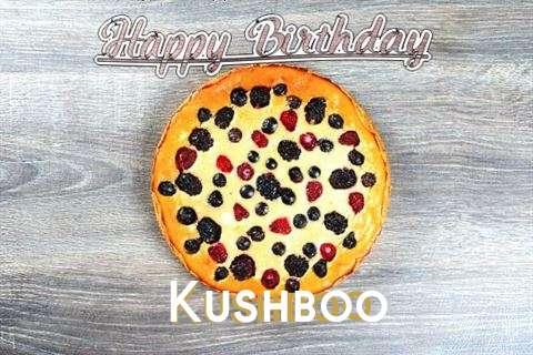 Happy Birthday Cake for Kushboo