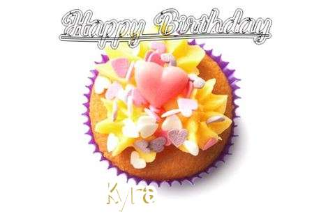 Happy Birthday Kyra Cake Image