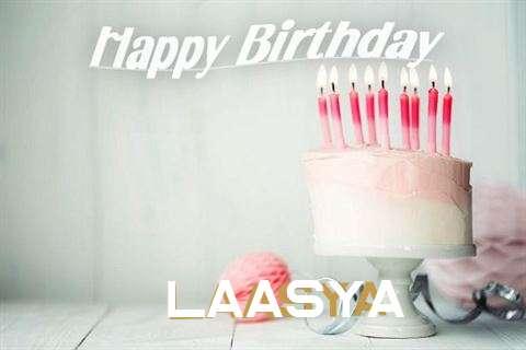 Happy Birthday Laasya Cake Image