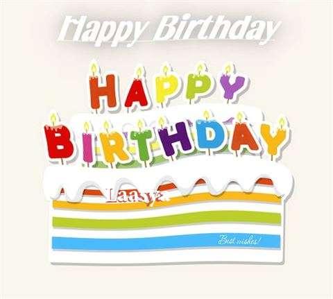 Happy Birthday Wishes for Laasya
