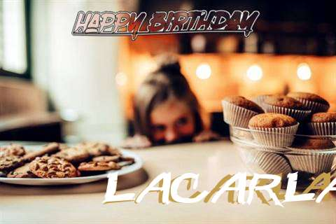 Happy Birthday Lacarla Cake Image