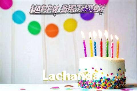 Happy Birthday Cake for Lachanda