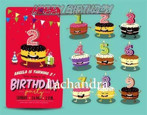 Happy Birthday Lachandra Cake Image