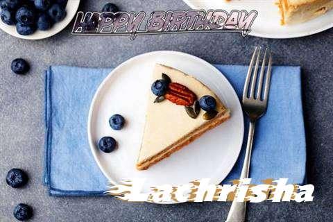 Happy Birthday Lachrisha Cake Image