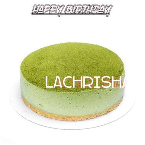 Happy Birthday Cake for Lachrisha