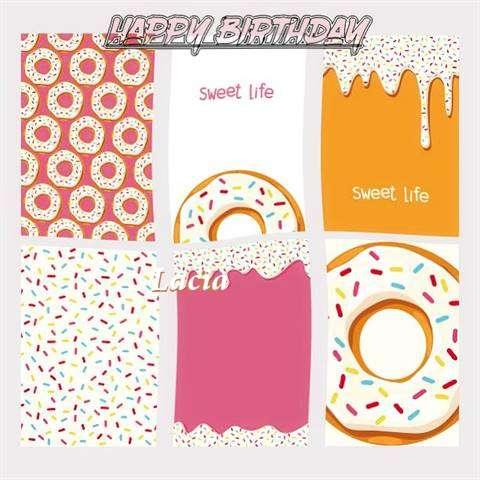 Happy Birthday Cake for Lacia