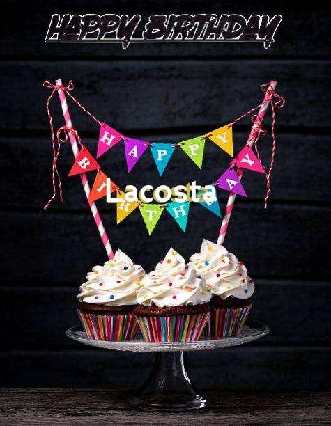 Happy Birthday Lacosta