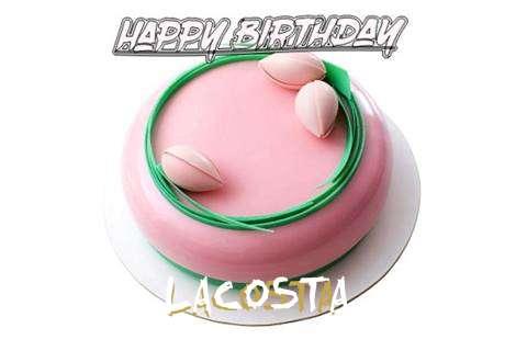 Happy Birthday Cake for Lacosta