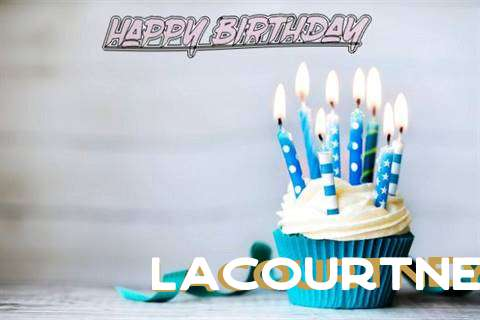 Happy Birthday Lacourtney Cake Image