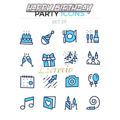 Happy Birthday Wishes for Lacrecia