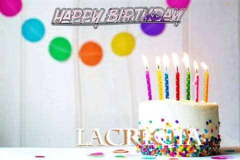 Happy Birthday Cake for Lacrecia