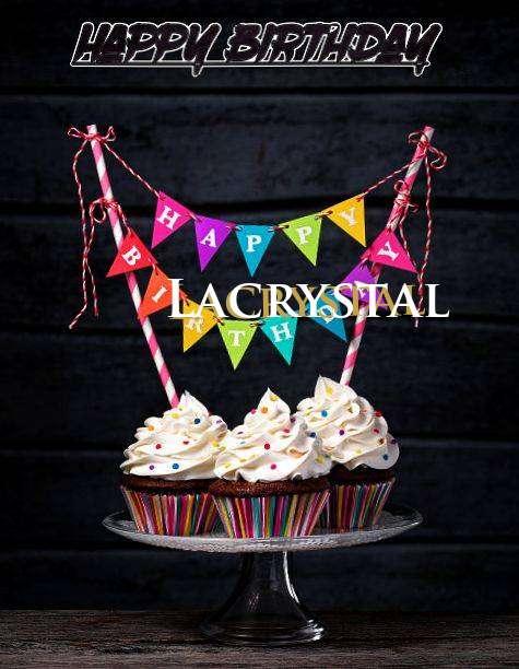 Happy Birthday Lacrystal