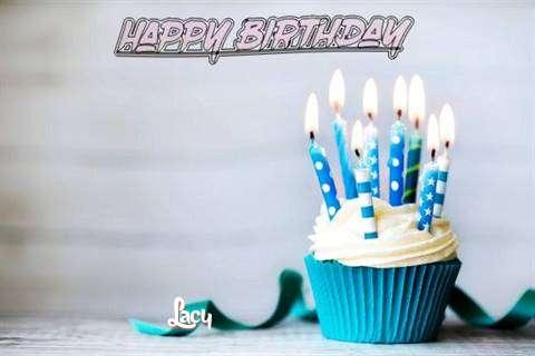 Happy Birthday Lacy Cake Image