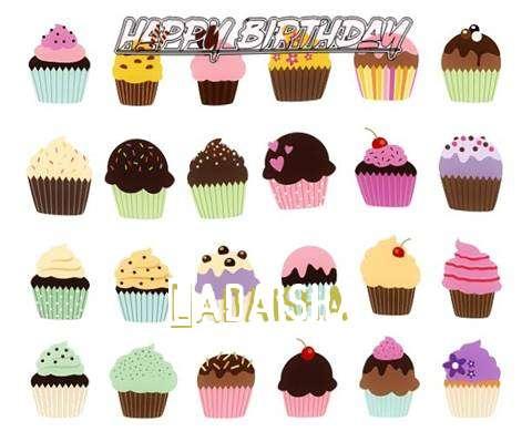 Happy Birthday Wishes for Ladaisha