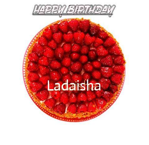 Happy Birthday to You Ladaisha